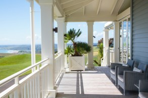 Every suite in Kauri Cliffs features a private porch.