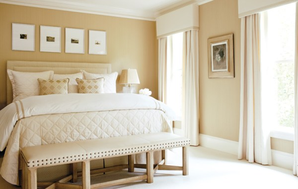 ivory and beige bedroom Neutral Territory - AH&L