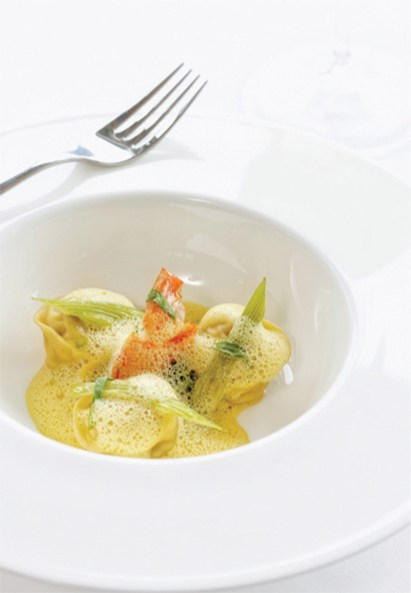 The dining menu at Matakauri Lodge features the finest in New Zealand produce.