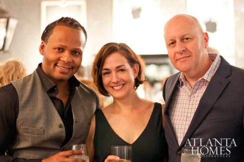 Michel Boyd, Julie Witzel and Martin Nash