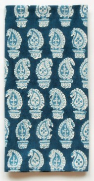 Dransfield & Ross hand block-print napkin in Butti, $28. Available at Gramercy Home