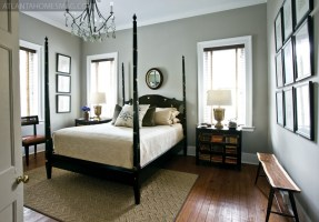 """The master bedroom in Madison is classically simple, just as you""""d expect for a space that Stanton describes as a """"forever home."""""""