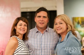 Whitney and Dave Anderson, and Beth Stanton
