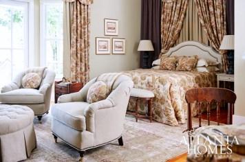 Patricia McLean Interiors Inc. // Master Bedroom