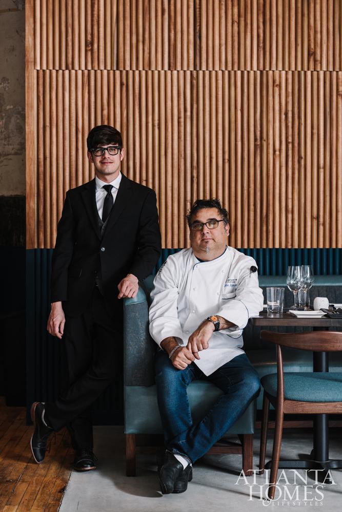 Beverage Director Julian Goglia and Chef Mike Blydenstein.