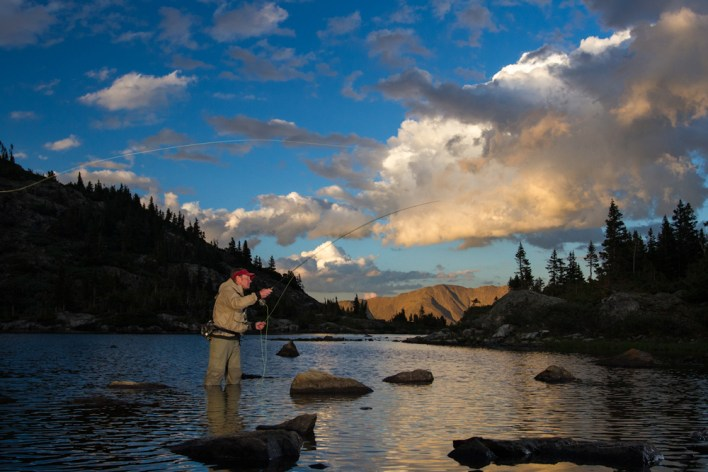 Enjoy some of the best fishing in North America at Breck's rivers or alpine lakes.