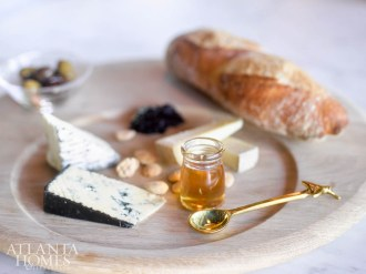 A cheese plate from Star Provisions is curated to perfection.