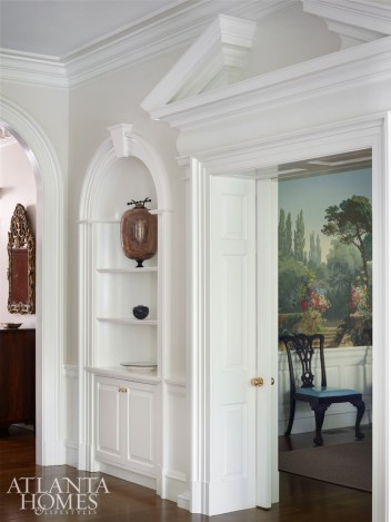 """""""Particularly with the millwork, we took it back to that more classic 1920s approach,"""" says Dixon."""
