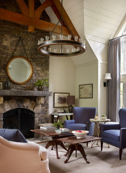 Residential – Showhouse Bronze: Mountain Guest Cottage, McLaurin Interiors, Maria McLaurin, ASID