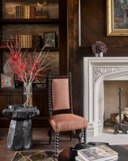 Residential – Showhouse Gold: 2015 Atlanta Homes & Lifestyles Home for the Holidays Master Study, Joel Kelly Design, Joel Kelly, Allied ASID, Jonathan Alexander