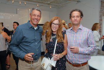 Mike Bell, Laura Walker Baird, Paul Baird
