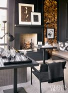 All furniture in the porch can withstand the elements, says Robert Brown. Chaises, Janus et Cie. Metal furniture, Design Within Reach. All art and accessories, Townhouse by Robert Brown.