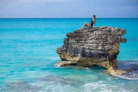 Bimini is known for its crystal blue waters.