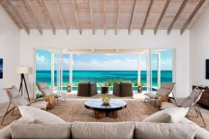 Beachfront villas at Sailrock Resort are steps away from the beach and range from from 5,055 to 5,992 square feet.