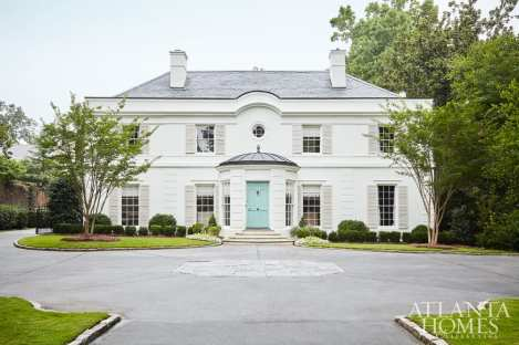 Paces Builder Group and Charles Heydt renovated the historic residence.