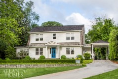 Kleinhelter worked with architecture firm T.S. Adams Studio and landscape architect John Howard to thoughtfully bring this 1935 Dutch Colonial home into the 21st century.