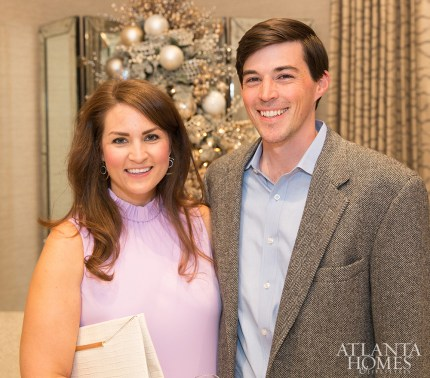 Amber and Frank Heery of Harrison Design