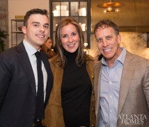 Doug Sears and Kris Marooney of Robuck with Chris Holt of Holt Interiors