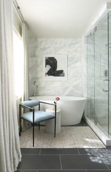"RENOVATION–Bathroom SILVER ""Newlywed Master Bath"" ■ Tish Mills Interiors Tish Mills Kirk, Allied ASID; Scott Kirk, ASID"