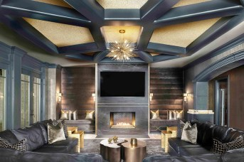 "RENOVATION–Singular Space SILVER ""VIP Lounge"" ■ Pineapple House Interior Design, Inc. Amber Gizzi, ASID; Kari Mears, Allied ASID; Victoria Askin"