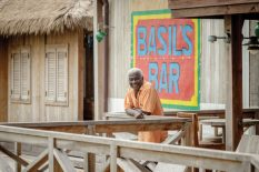 Basil Charles, on the island since 1971, was awarded the Order of the British Empire in 2005.