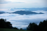 Gooseberry Knob above the clouds.