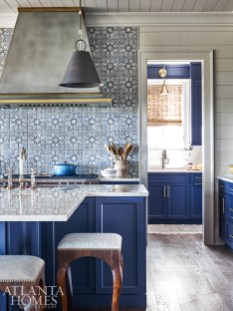 The home's butler's pantry functions as a back kitchen, providing extra storage and also a solution for keeping the main kitchen clean, says Wilkins.