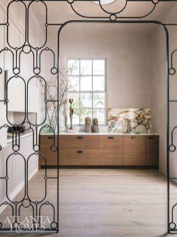iron screen butler's pantry