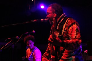 Funk Jam - George Porter Jr. (The Meters) & Ian Neville (Dumpstaphunk) - Photo by Chris Horton