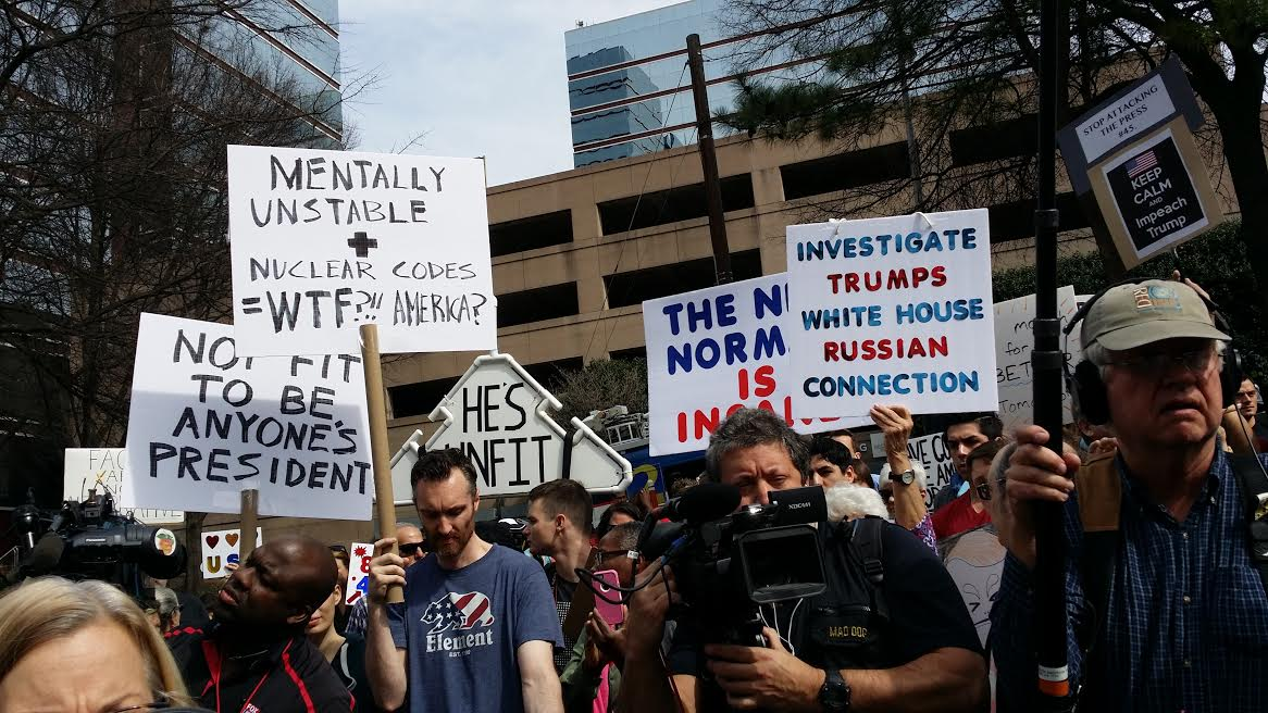 Image result for photos of rallies to impeach trump