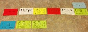 Winston Grammar Clue Cards