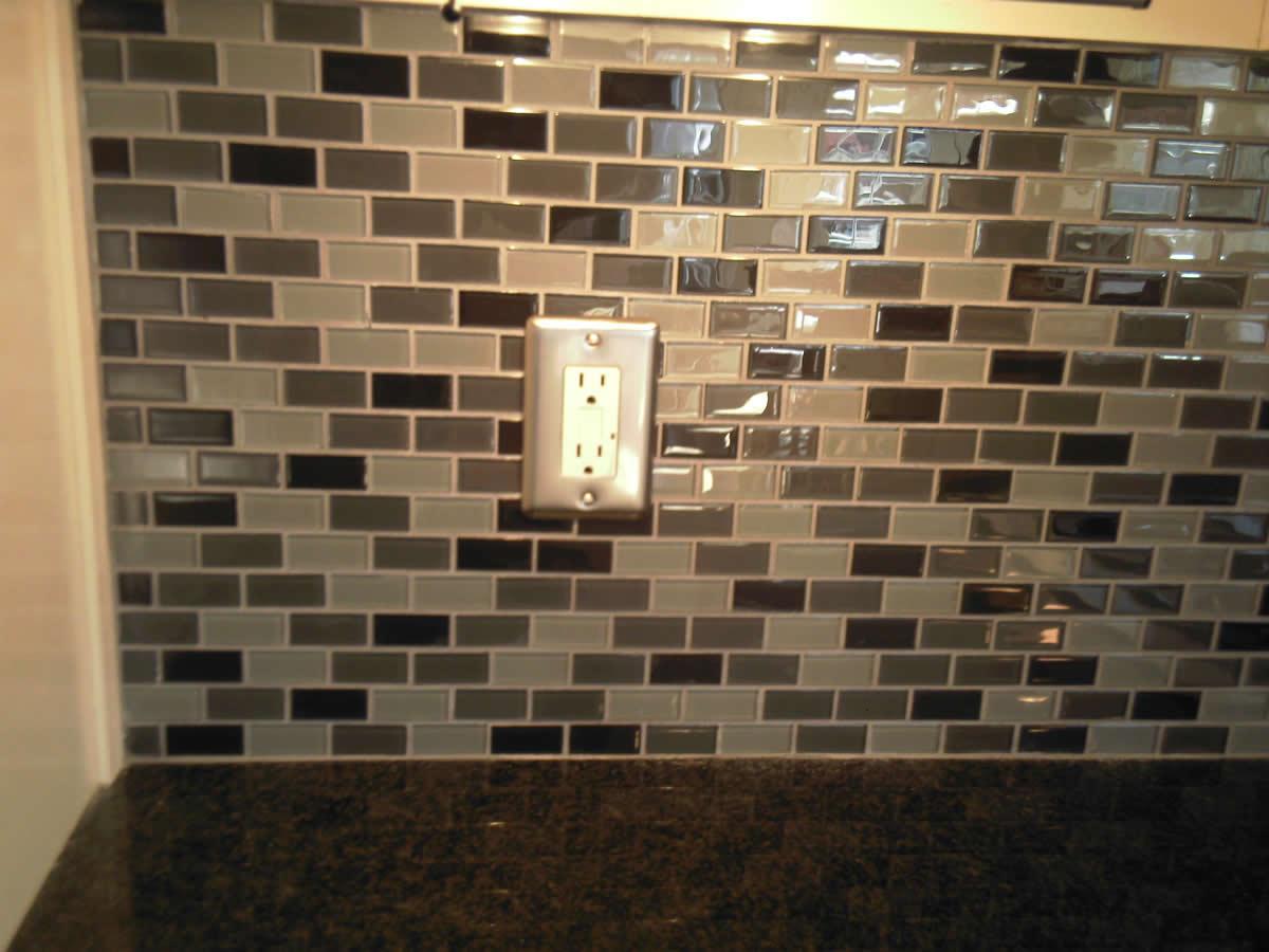 Backsplash Tile, Glasses Tile, Backsplash Ideas, Kitchens
