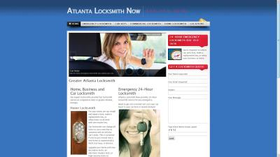Atlanta Locksmith Website Design
