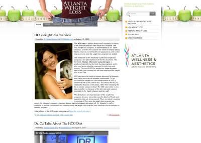 Weight Loss Website Design