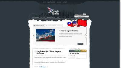 Eagle Pacific Website Design