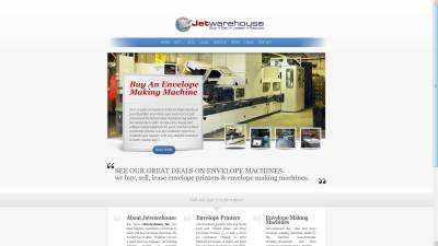 Envelope Machines Website Design