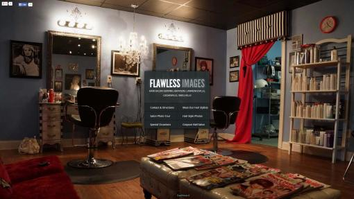 Flawless Images Hair Salon Website Design