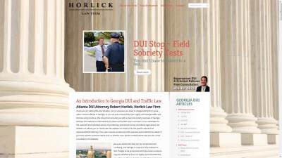 Horlick Law Firm Website Design