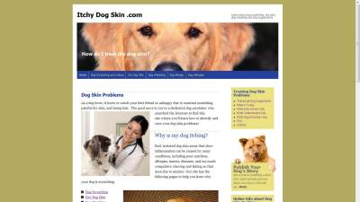 TheraCoat Dog Supplement Website Design