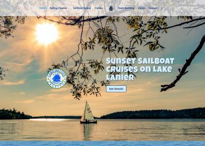 Lord Nelson Charters Website Design