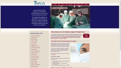 North Atlanta Surgical Associates Website Design