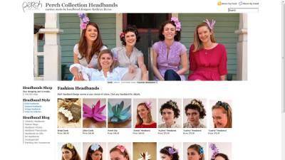Perch Collection Website Design