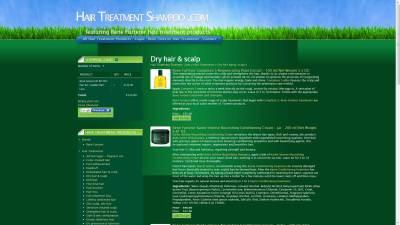Rene Furterer Shopping Cart Website Design