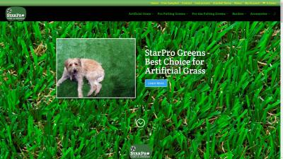 StarPro Greens Website Design