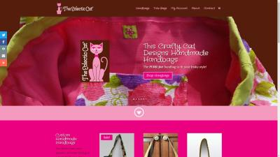 The Eclectic Cat Website Design