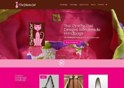 The Eclectic Cat Website Design