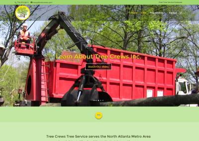 Tree Crews Inc. Website Design