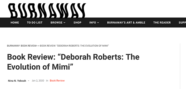 "Book Review: ""Deborah Roberts: The Evolution of Mimi"""