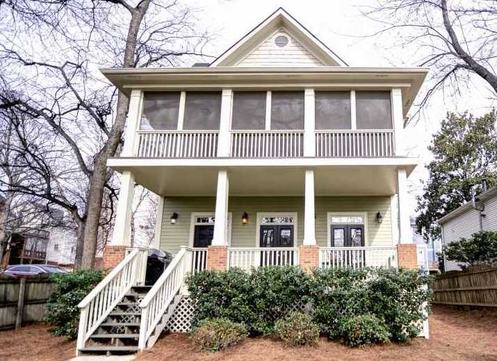 Atkins Park Neighborhood Atlanta GA Home