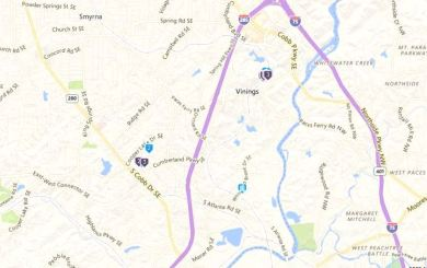 The 2 Neighborhoods of Vinings Ridge in Cobb County